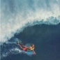 Preview: Bodyboard Flossen CHURCHILL Makapuu M 39-40,5 Blau