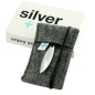 Preview: Silver+Surf Silber Schmuck Anker XL Wood Halsband
