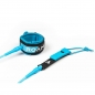Preview: ROAM Surfboard Leash Premium 8.0 244cm 7mm Blau