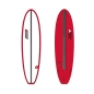 Preview: Surfboard CHANNEL ISLANDS X-lite Chancho 7.6 Red
