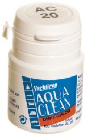 Yachticon Aqua Clean AC 20 -ohne Chlor- 100 Tabletten