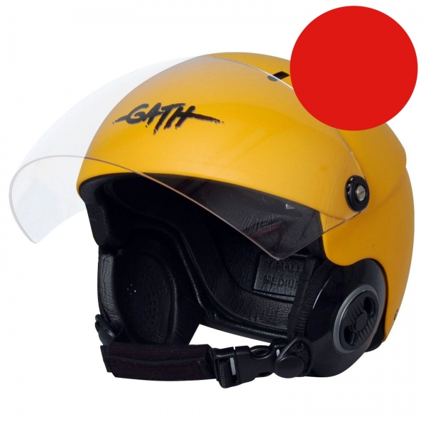 GATH Helm RESCUE Safety Rot matt Gr M